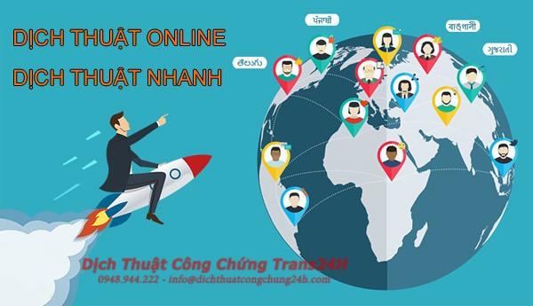 Dịch Thuật Nhanh Online