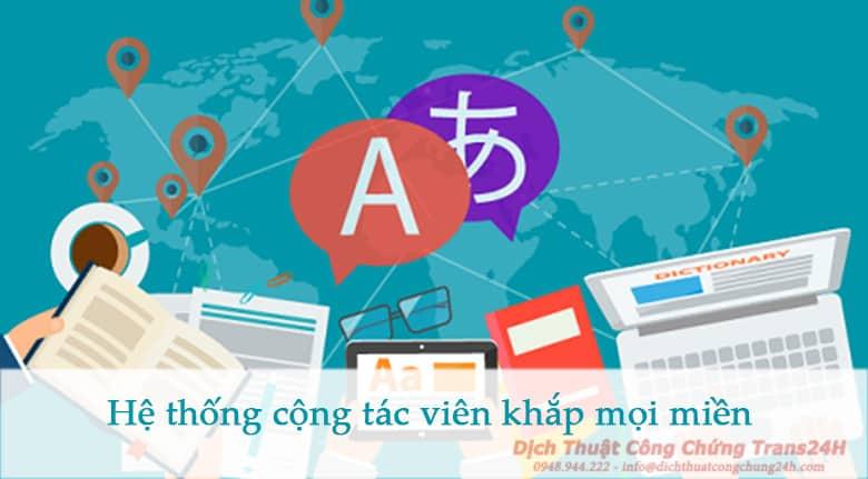 Dịch thuật siêu nhanh chóng khắp trên cả nước Việt Nam