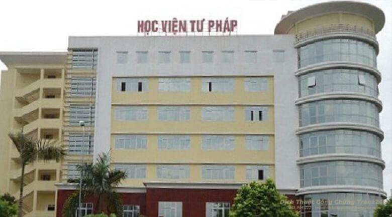 Học Viện Tư Pháp Hà Nội - Nơi đào tạo hành nghề công chứng viên