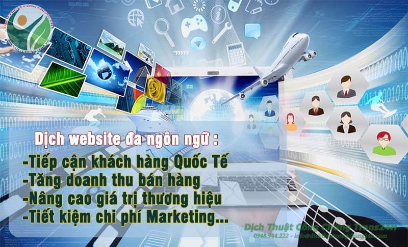 Dịch Website doanh nghiệp